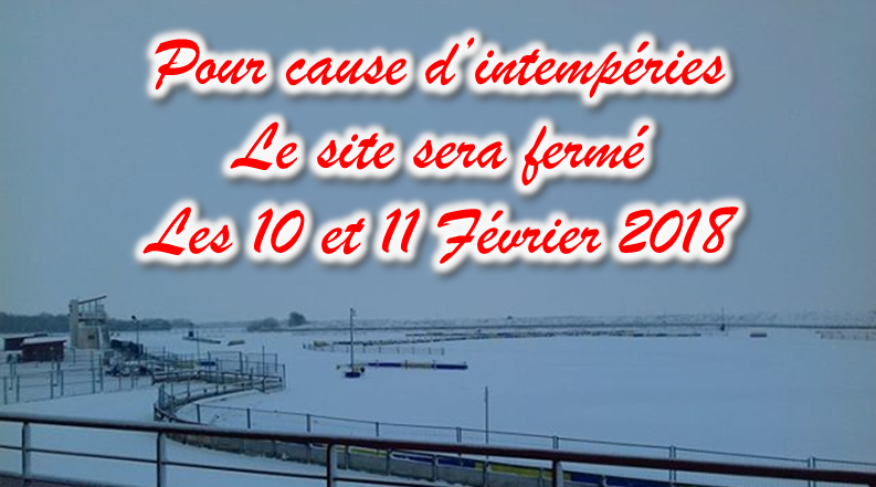 PISTE COMPETITION FERMEE POUR CAUSE INTEMPERIES f