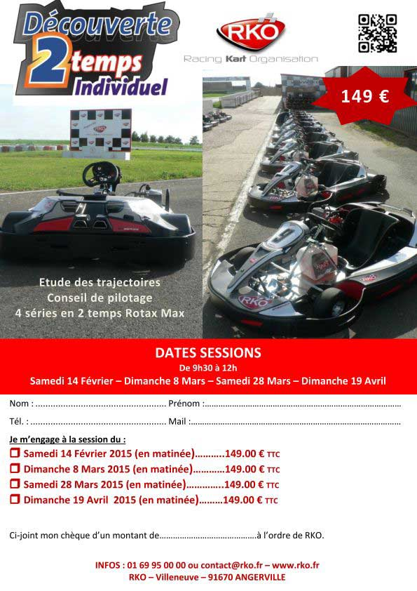 initiation karting 2temps